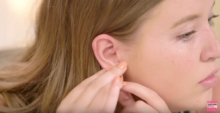 Use Vaseline to get your earings back in your ear