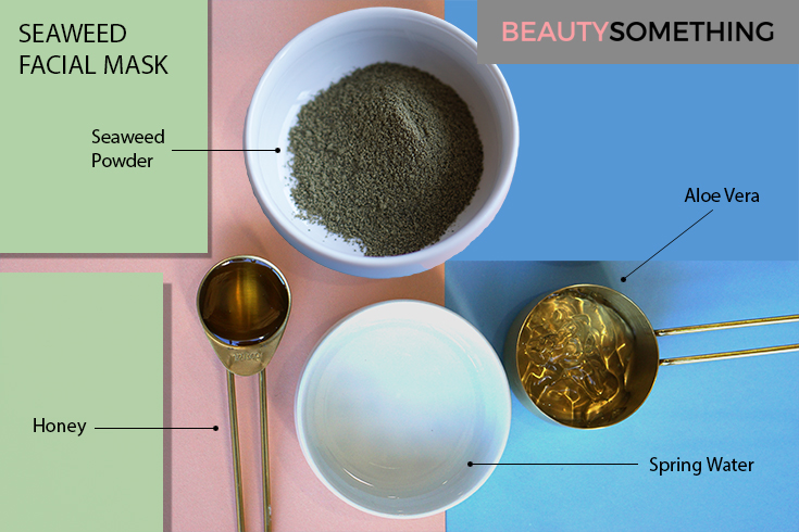 seaweed facial mask recipe