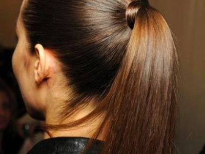 How To Get The Best Ponytail Without An Elastic Hair Tie