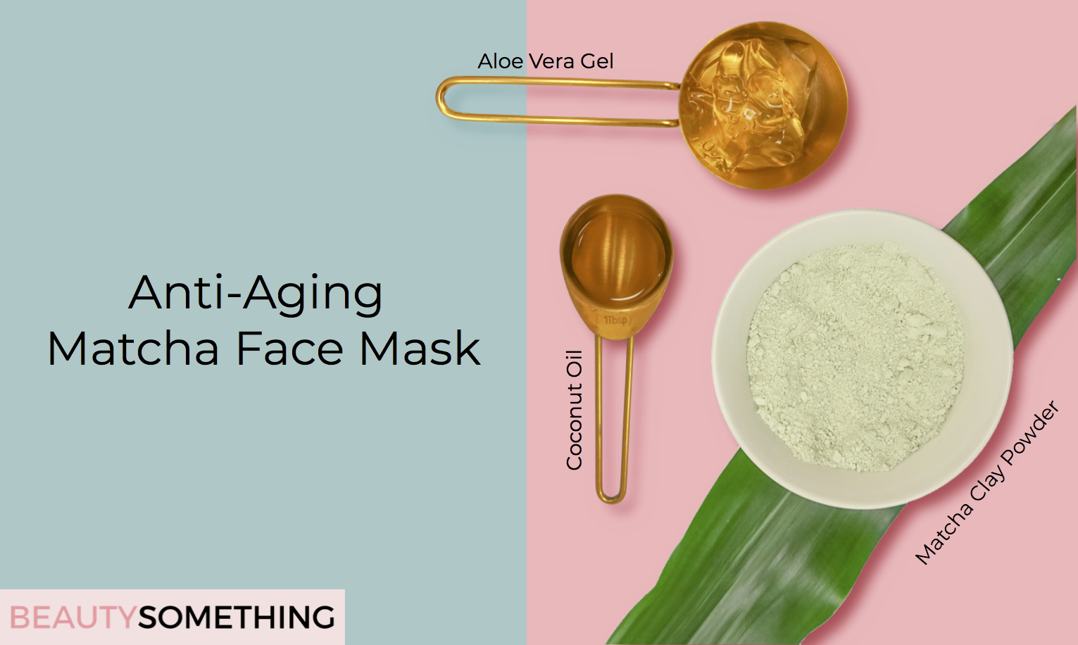 matcha green tea anti-aging face mask recipe