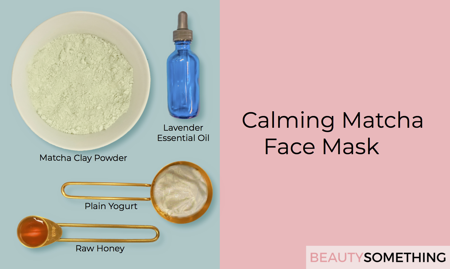 matcha green tea calming face mask recipe