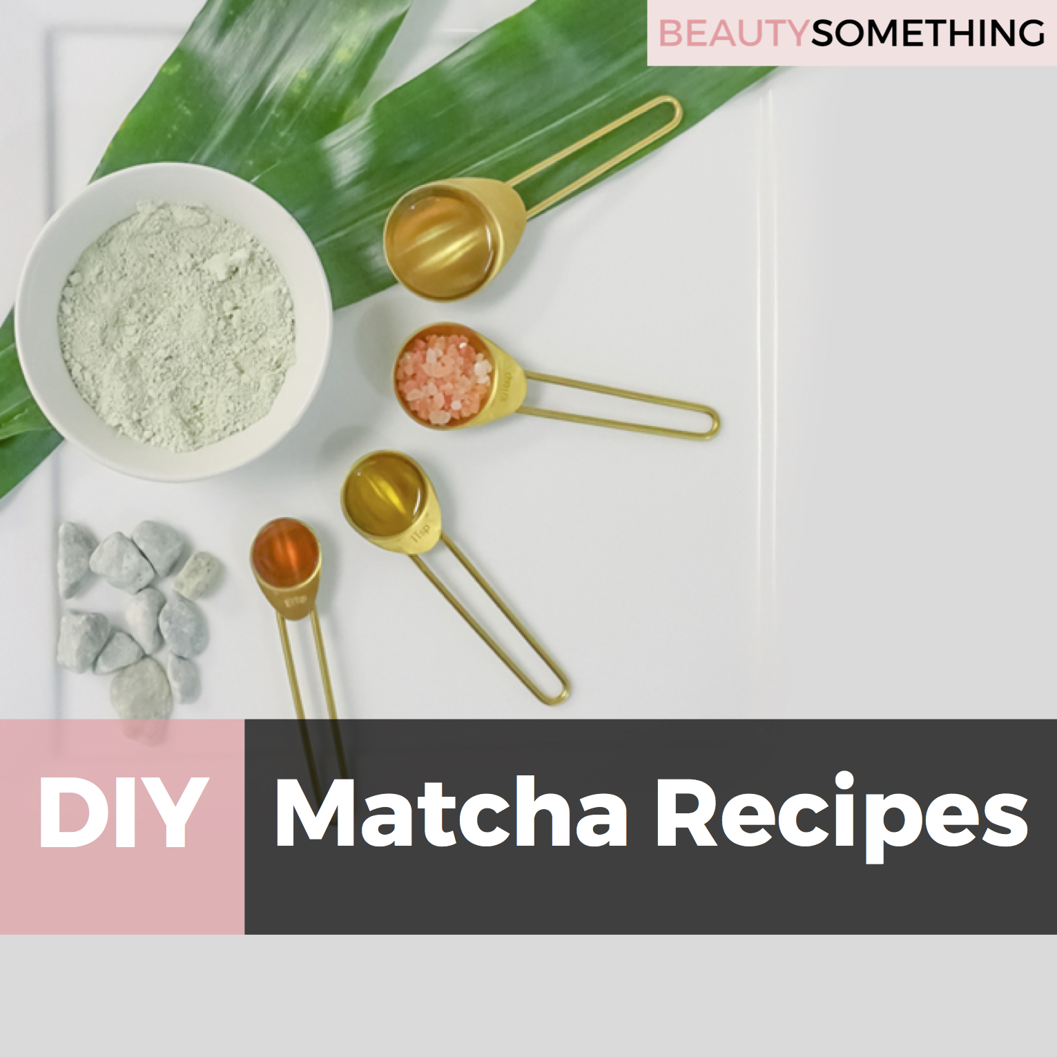 DIY matcha green tea powder recipes
