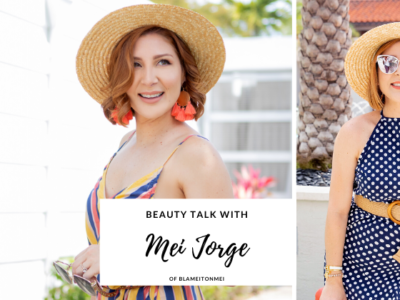 Beauty Talk with Mei Jorge, Soon to be Mama of 2 and Founder of Award Winning Bilingual Blog BlameItOnMei